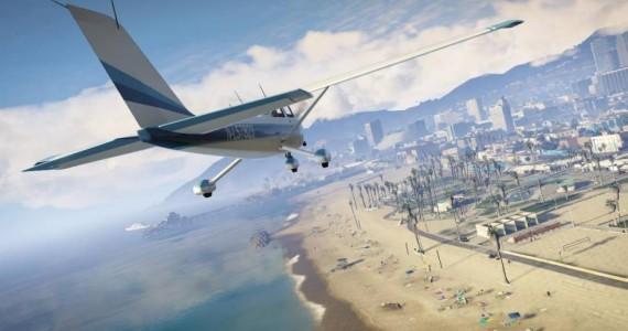 Grand-Theft-Auto-V-plane-beach