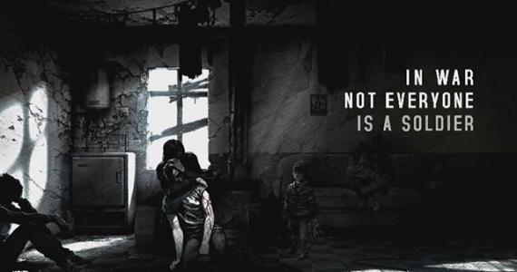 This War of Mine é um jogo de guerra focado nos civis