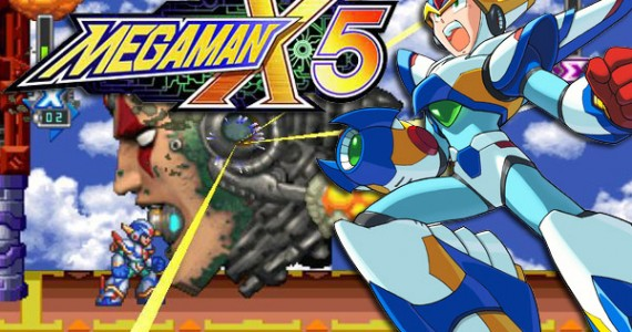 Mega Man X5 estará disponível na sua PSN