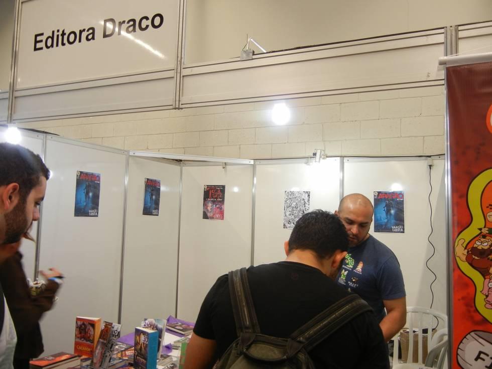 Editora Draco na Brasil Comic Con 2014
