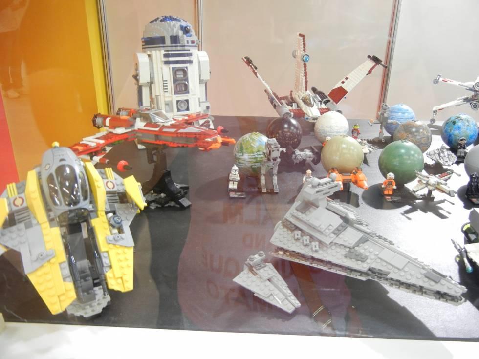 Exposição de Lego na Brasil Comic Con